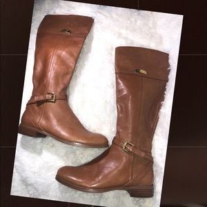 Coach ~ Micha ~ Size 7.5B ~ Camel Tall Boots